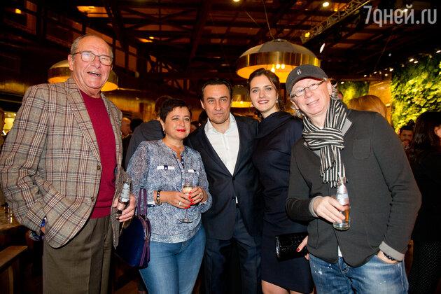 Эммануил и Ирина Виторган, Камиль Ларин с супругой, Аркадий Укупник