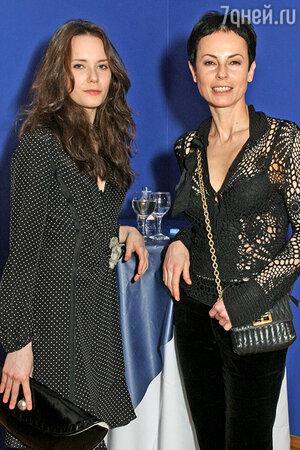 Дарья Авратинская с мамой Ириной Апексимовой