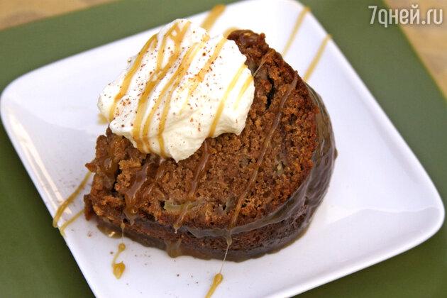 Яблочный пирог в медовой глазури: рецепт десерта