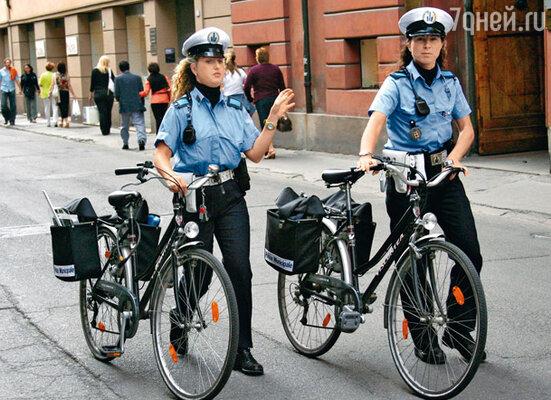 Амстердамские полицейские