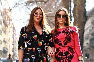 Алла Вербер и другие гости из России на показе Dolce&Gabbana