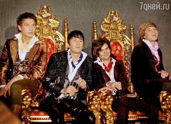 «На-На» заняла трон королей поп-музыки