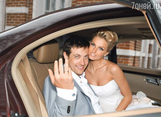 «Мы поженились 17 апреля в усадьбе Царицыно»