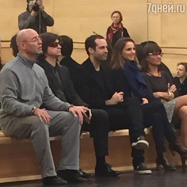 Натали Портман и Бенджамина Мильпье в Большом театре