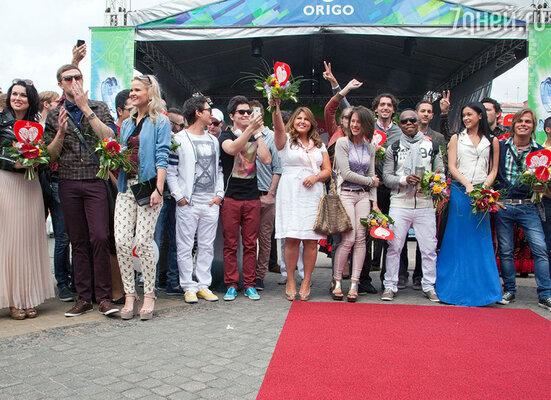 Прибытие участников конкурса «Новая волна» в Ригу