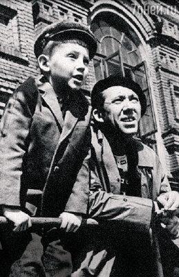 «Мне казалось, что для папы я всегда был на последнем месте». Максим с Юрием Владимировичем Никулиным. 1961 г.