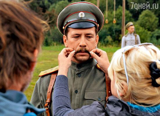 Андрею Мерзликину досталась роль главы белогвардейской контрразведки