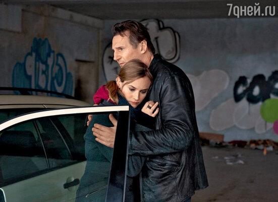 С Дианой Крюгер в триллере «Неизвестный»