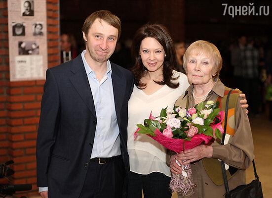 Андрей Кайков,  Ирина Усок, Виктория Радунская