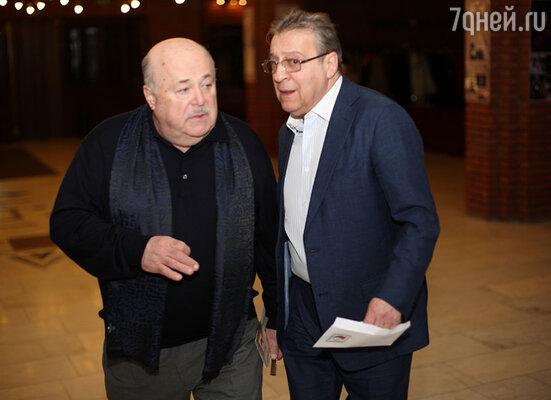 Александр Калягин и Геннадий Хазанов