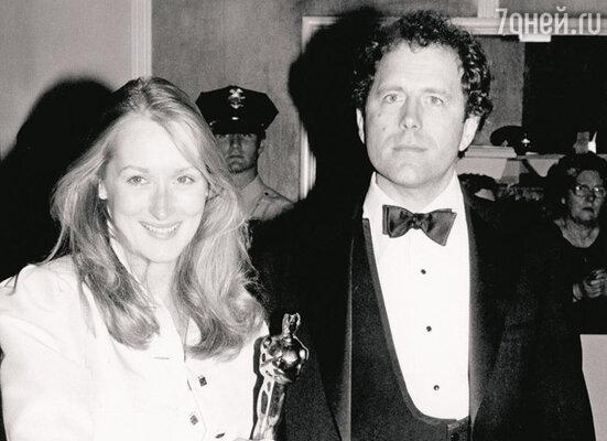 С мужем Доном Гаммером на церемонии вручения призов американской киноакадемии. 1979 г.