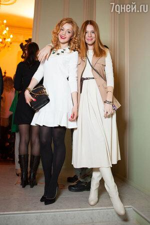 Юлианна Караулова и Наталья Подольская на модном показе LUBLU Kira Plastinina