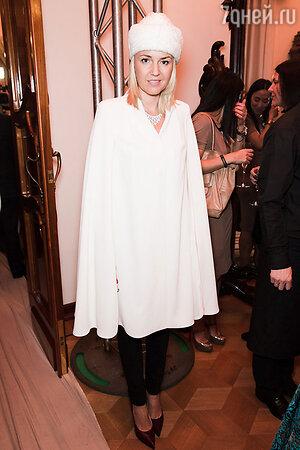Юлия Бордовских на модном показе LUBLU Kira Plastinina