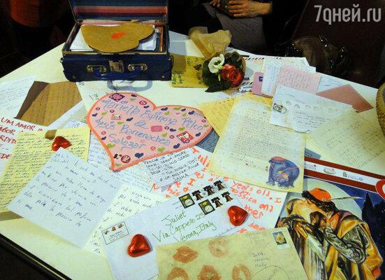 Каждый день в «Клуб Джульетты» приходят письма из разных уголков мира