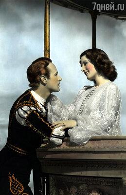 Лесли Говард и Норма Ширер. Самая первая озвученная экранизация трагедии. «Ромео и Джульетта», 1936 год