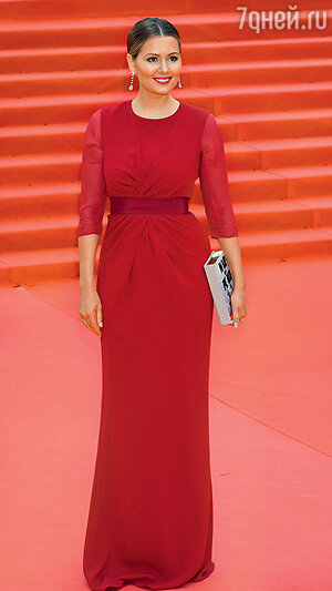 Мария Кожевникова. Церемония открытия 37-го ММКФ. 2015 г.