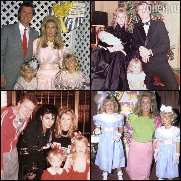 Семейные фотографии Пэрис Хилтон