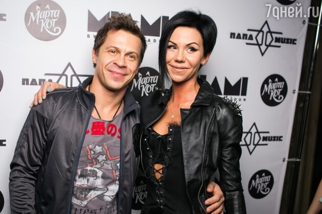 Павел Деревянко и Марта Кот