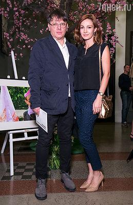 Валерий Тодоровский с супругой Евгенией Брик