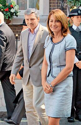 Родители новоиспеченной герцогини Кембриджской Майкл Фрэнсис и Кэрол Элизабет Миддлтон