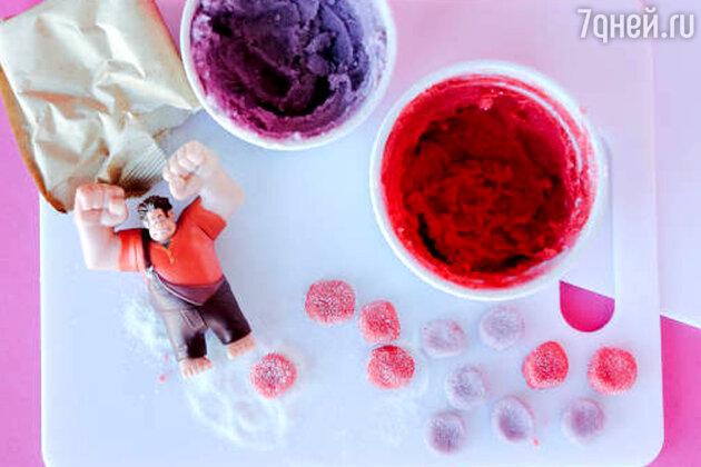 Разноцветные конфеты: рецепт десерта