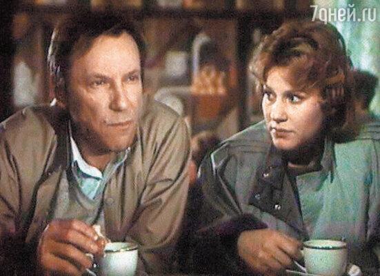 С Сергеем Шакуровым в телефильме «Визит к минотавру». 1987 г.