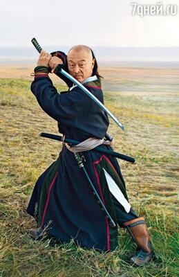 Кадр из российского фильма «Тайна Чингис Хаана»