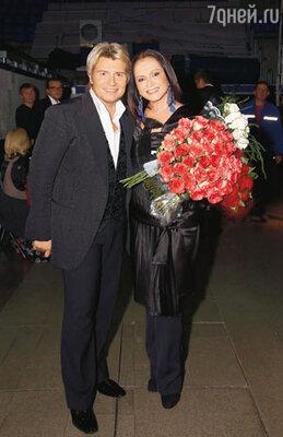 Ведущие концерта Николай Басков и София Ротару