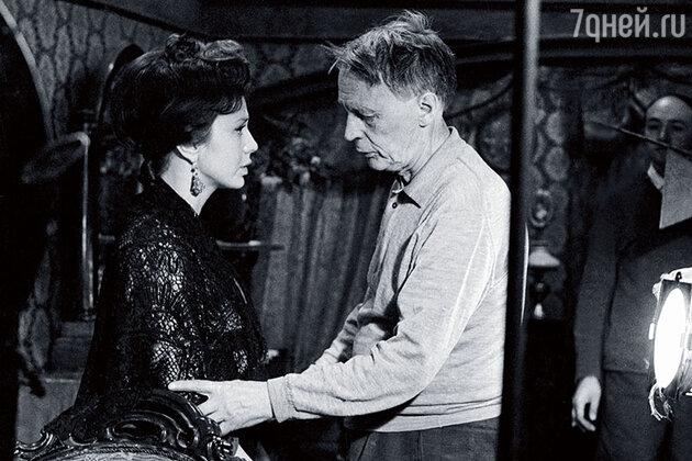 Лионелла Пырьева и Иван Пырьев