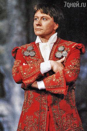 Андрей Миронов в спектакле «Безумный день,или женитьба Фигаро»