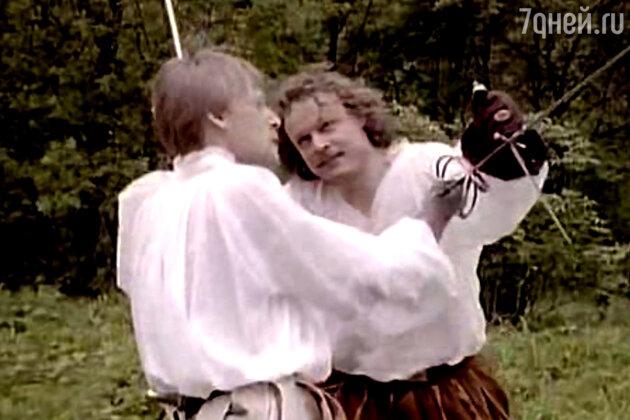 Битва графов: де Ла Моль (Дмитрий Харатьян) против де Коконнаса (Сергей Жигунов)