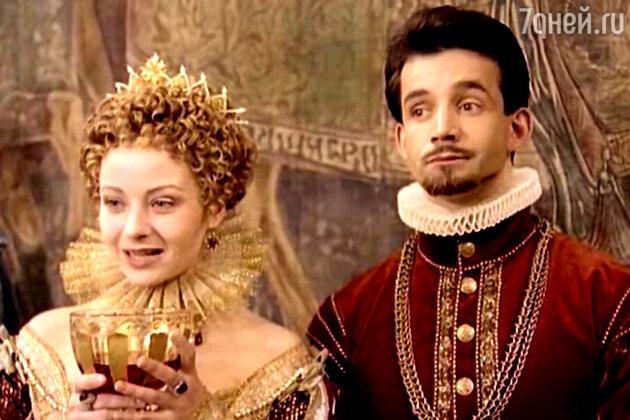 Королева Марго (Евгения Добровольская) и Генрих Наваррский (Дмитрий Певцов)