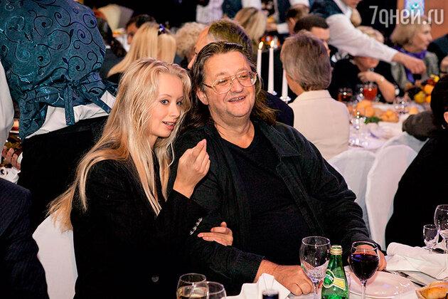 Александр Градский с нынешней женой Мариной Коташенко