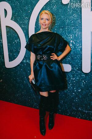 Анна Чурина на премьере фильма «Дубровский»