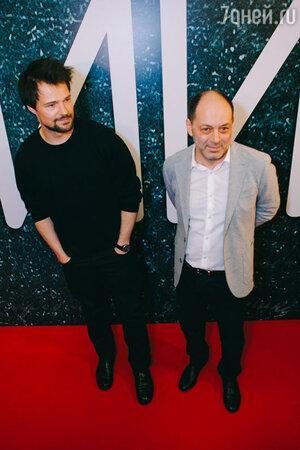 Данила Козловский и Евгений Гиндилис на премьере фильма «Дубровский»