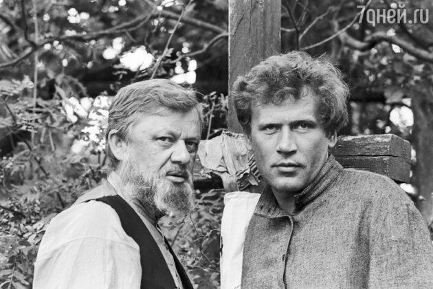 Съемки фильма «Люди на болоте», 1983 год