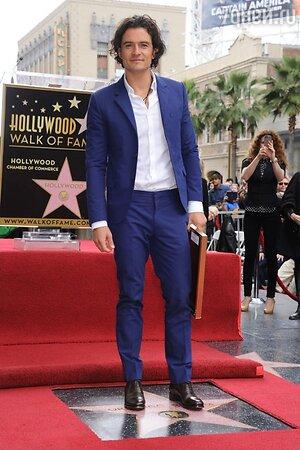 На Голливудской «Аллее славы» появилась звезда Орландо Блума