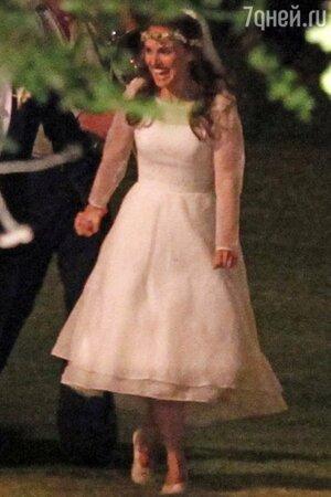 Для своей настоящей свадьбы Натали Портман выбрала наряд от Rodarte