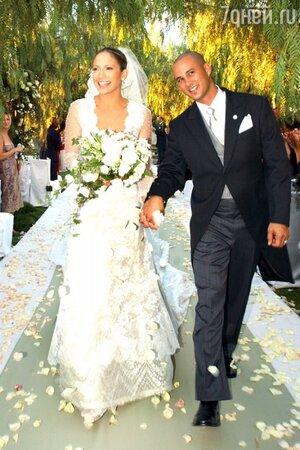 Свадьба Дженнифер Лопес и Криса Джадда