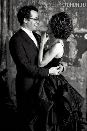 На свадьбу с Мэттью Бродериком, состоявшуюся в 1997 году, Сара Джессика Паркер пришла в необычном черном платье