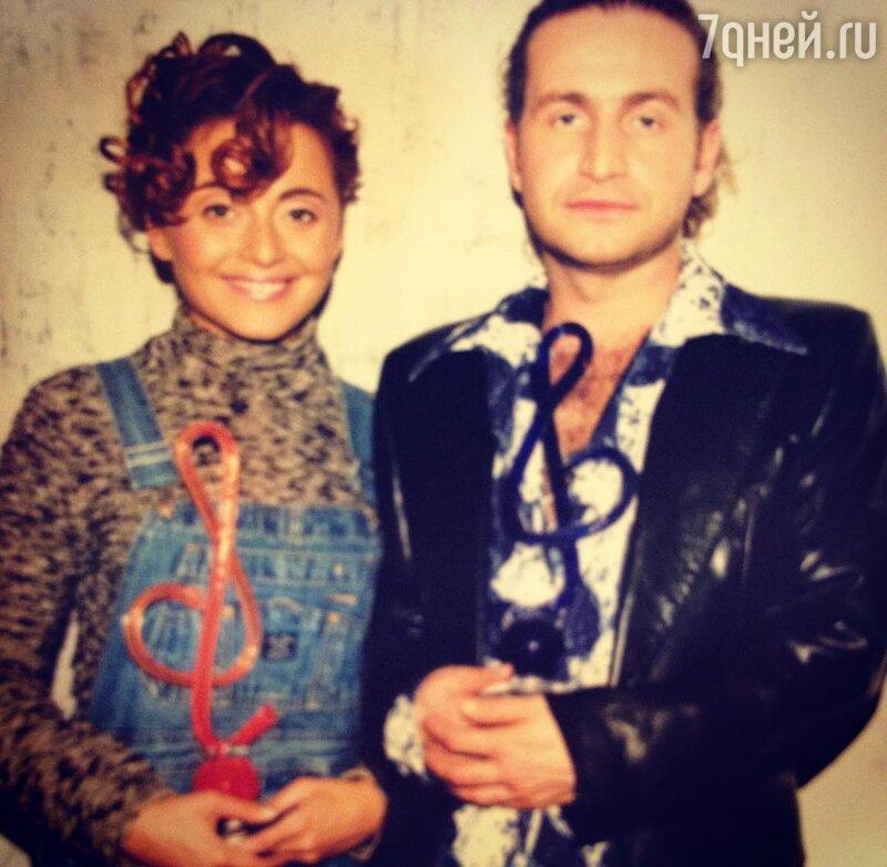 Леонид Агутин иАнжелика Варум отмечают годовщину совместной жизни