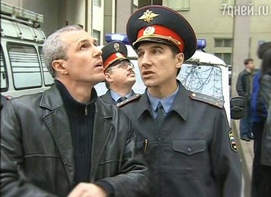 Игорь Верник в роли майора Анохина в сериале «Время жестоких»