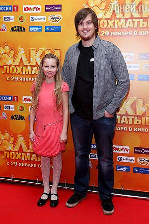 Александр Домогаров-младший и Лера Стреляева