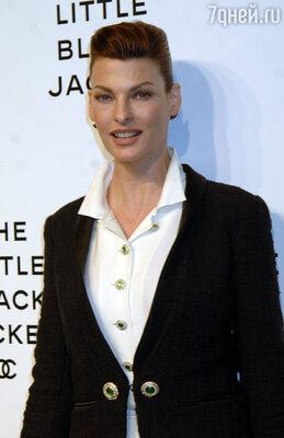 Линда Евангелиста. Голливуд, 2011 г.