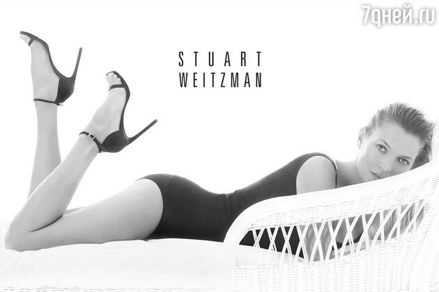 Кейт Мосс снялась в рекламе обувного бренда