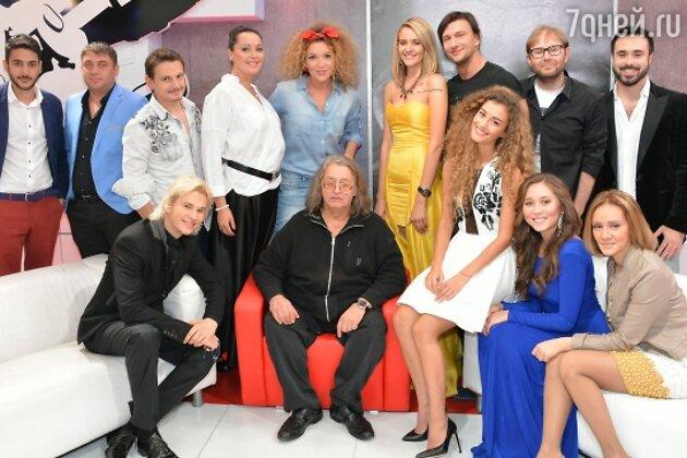 Александр Градский с командой