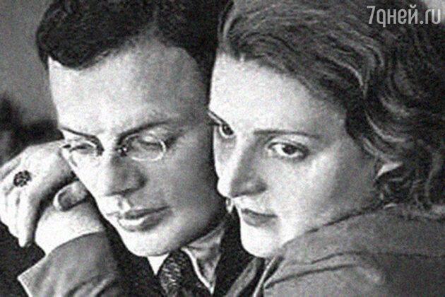 Илья Ильф с женой Марией
