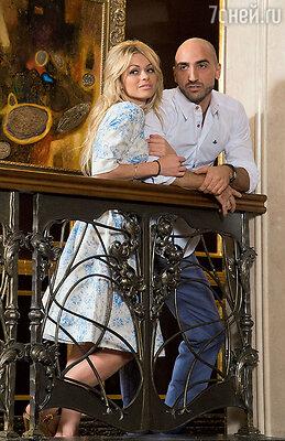Анна Хилькевич и ее возлюбленный Артур