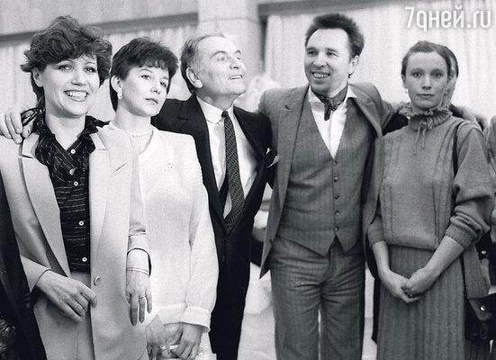 С Пьером Карденом. 1983 г.