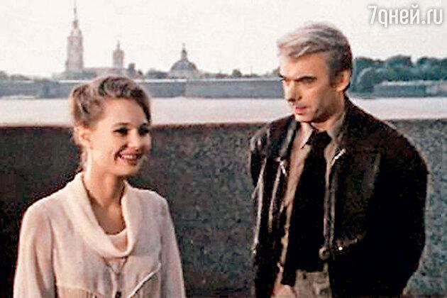 Лариса Луппиан c Алексеем Баталовым в фильме «Поздняя встреча». 1978 г.